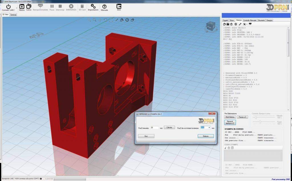 Software-per-stampante-3d