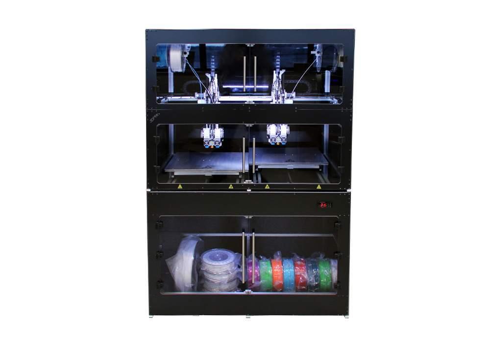 Stampante 3d closed con lab desk
