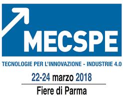 Mecspe 2018 presso Fiere di Parma dal 22 al 24 Marzo