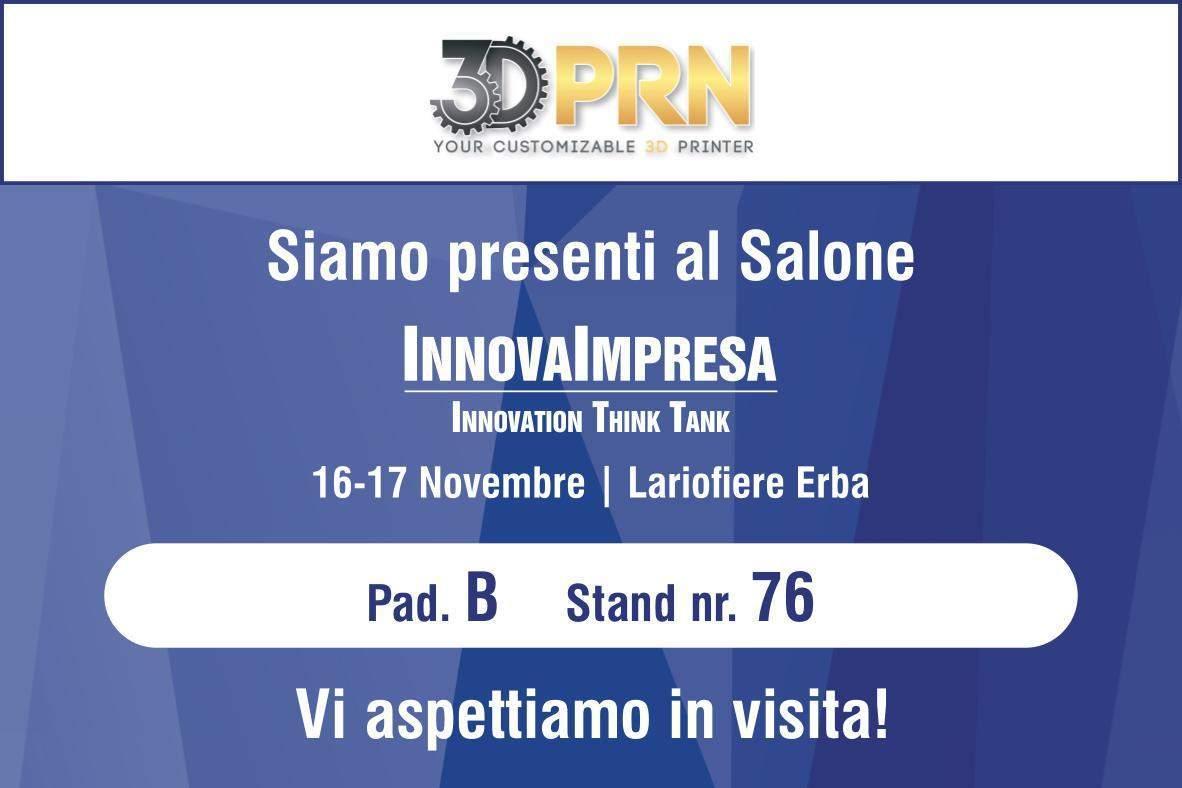 Evento InnovaImpresa 2018 presso LarioFiere Erba dal 16 al 17 Novembre