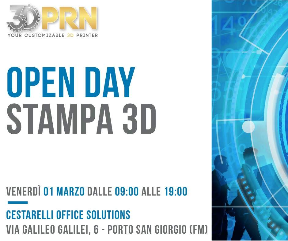 Open Day Stampa 3D_ Cestarelli Office Solution