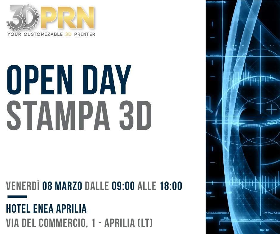Open Day Stampa 3D_ Hotel Enea Aprilia (LT)