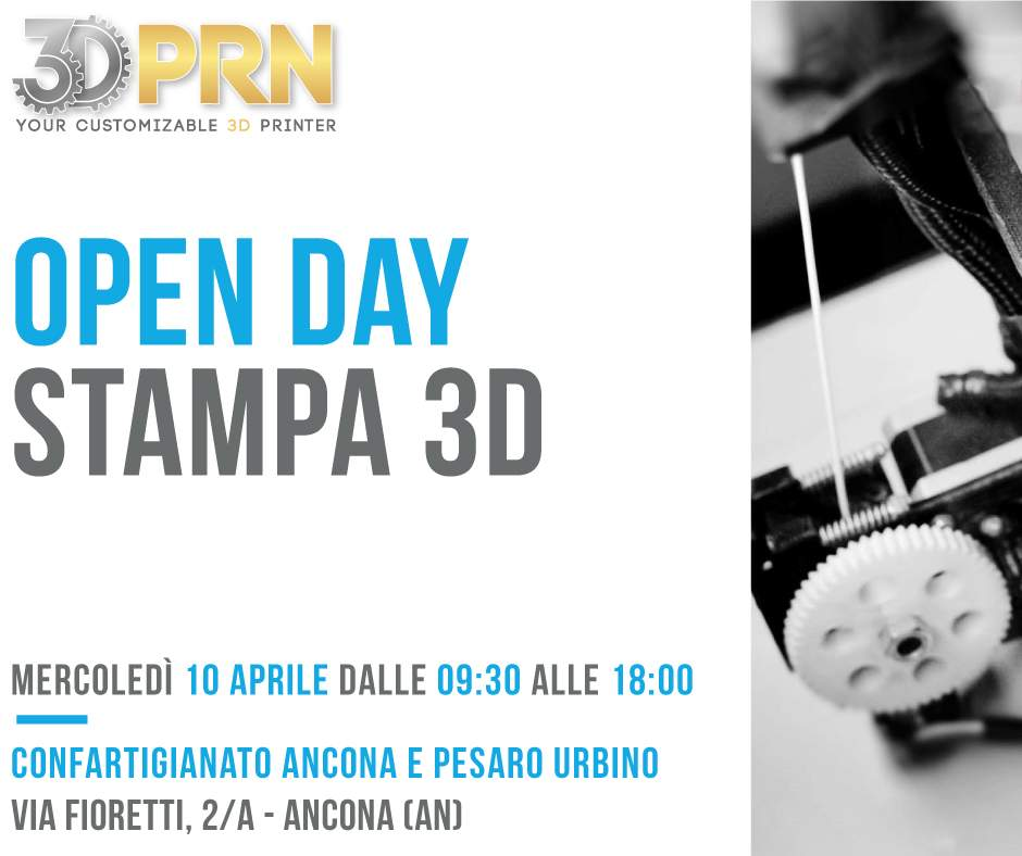Open Day Stampa 3D Confartiginato Ancona