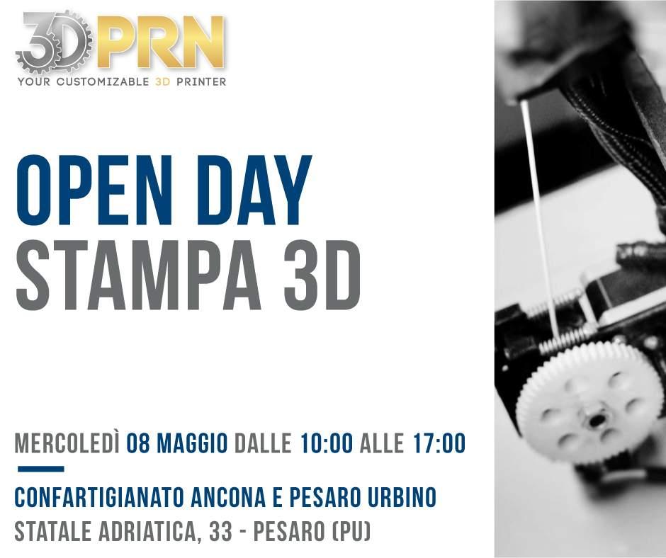 Open Day Stampa 3D_ Confartigianato Ancona e Pesaro Urbino